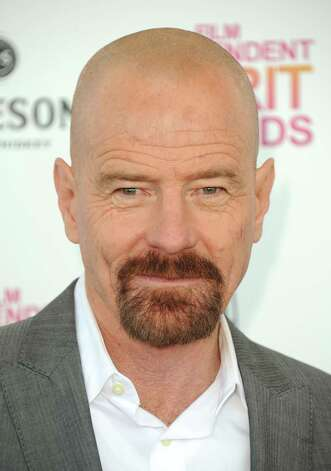 Actor Bryan Cranston arrives. Photo: Jordan Strauss/Invision/AP