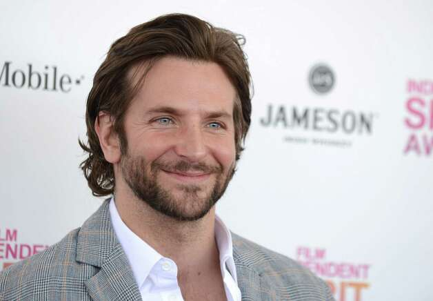 Actor Bradley Cooper arrives. Photo: Jordan Strauss/Invision/AP