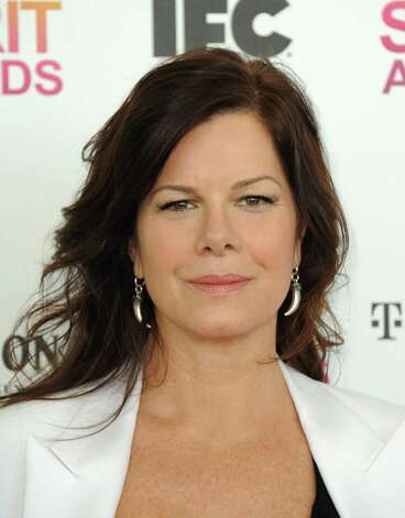 Actress Marcia Gay Harden arrives. Photo: Jordan Strauss/Invision/AP