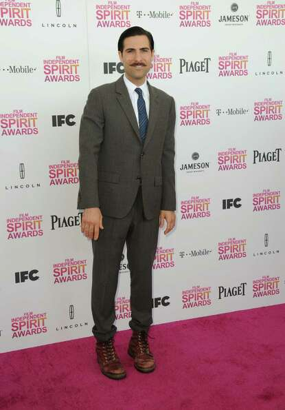 Actor Jason Schwartzman arrives.