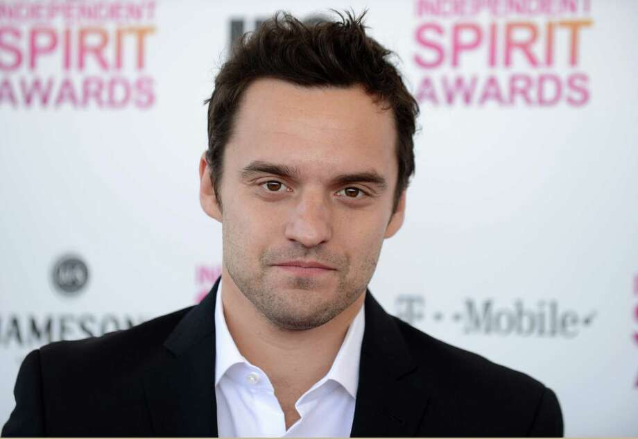 Actor Jake Johnson arrives. Photo: Jordan Strauss/Invision/AP