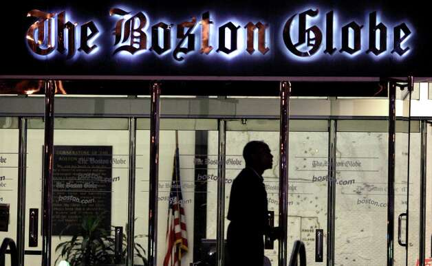 The New York Times Company announced Wednesday that it has put The Globe up for sale. Photo: AP