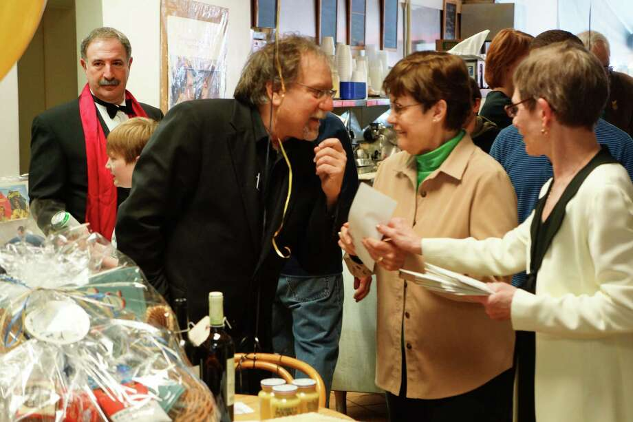 Were you seen at the Westport Cinema Initiative's Oscars pre-party? Oscar's Deli 2/24/2013 Photo: Todd Tracy