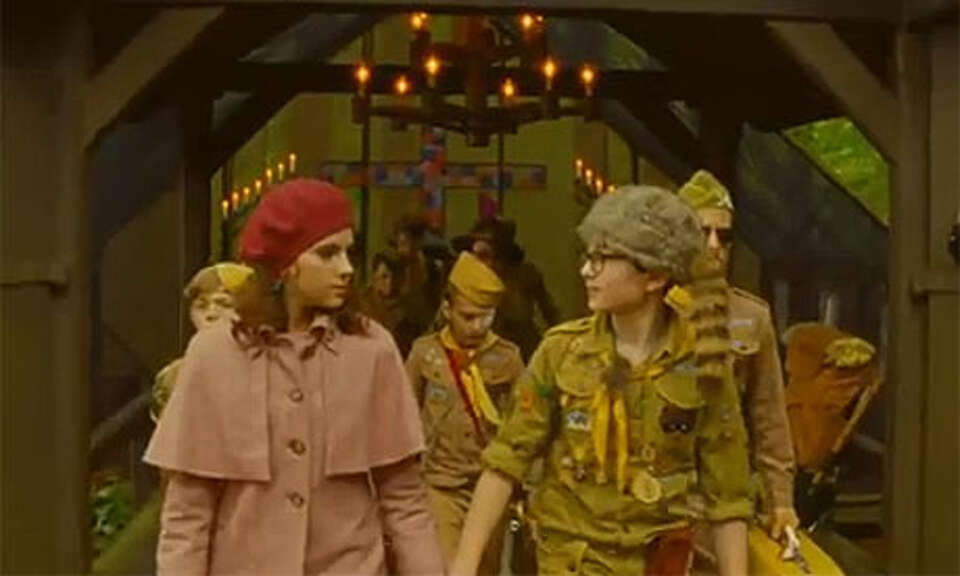 MOONRISE KINGDOM - Hands down my favorite film of the year. It's a classic smile-was-on-my-face-the-