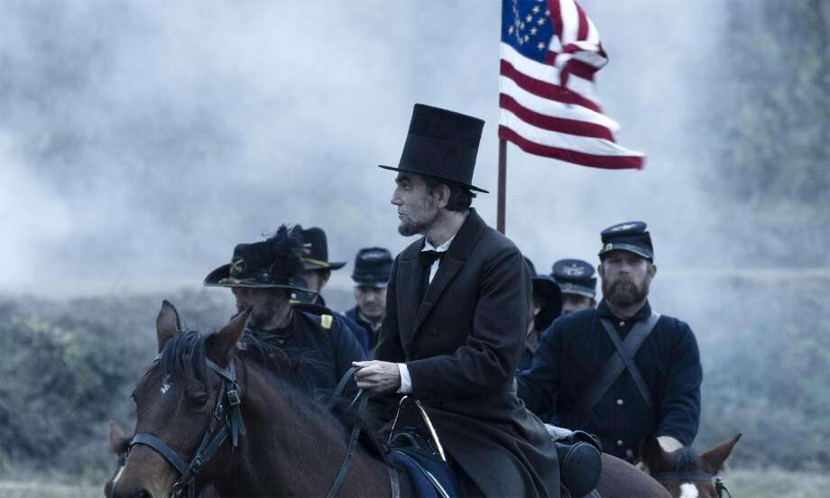 LINCOLN - This documentary is made up of archival footage of Abraham Lincoln, somehow with a soundtrack recorded back in 1865. It has to be. There is no other way to explain the monumental, towering achievement that is Daniel Day-Lewis' performance. You are simply watching Lincoln, end of story. And that would be enough to make this film sail to the top of any best of list, but it has the added benefit of also being one of Steven Spielberg's greatest films, touched with a darkness and depth rarely seen by him (even if, in true Spielbergian fashion, he botches the ending again). Tony Kushner's talky, literate, penetrating script is never short of thoroughly engaging. And the cast beyond Day-Lewis is almost as good as he is: Sally Field, Tommy Lee Jones, David Strathairn, Gloria Reuben, Joseph Gordon-Levitt, James Spader, Hall Holbrook, et al.
