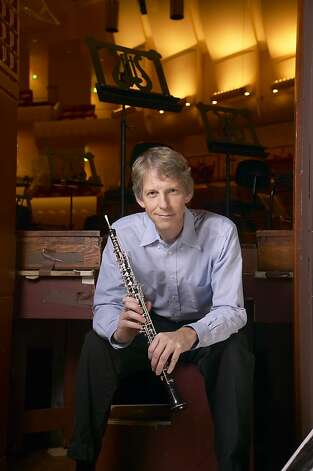 Oboist William Bennett Photo: SF Symphony