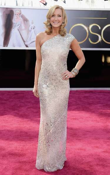 TV personality Lara Spencer arrives at the Oscars at Hollywood & Highland Center on February 24, 201