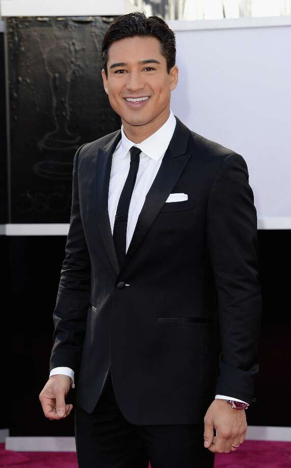 TV personality Mario Lopez attends the Oscars at Hollywood & Highland Center on February 24, 2013 in Hollywood, California. Photo: Jason Merritt, Getty Images / 2013 Getty Images
