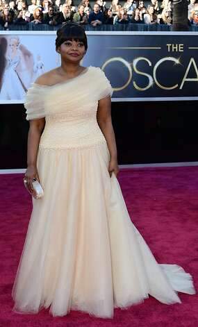 Best: Octavia Spencer, lovely as a cloud. Photo: Frederic J. Brown, AFP/Getty Images