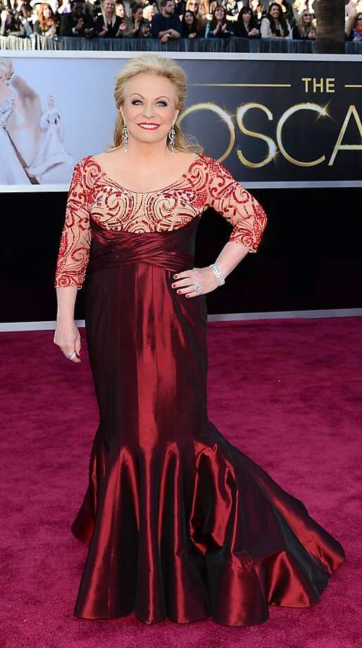 Best: Jacki Weaver, giving 50-plus a good name with glamour and sass. Photo: Frederic J. Brown, AFP/Getty Images