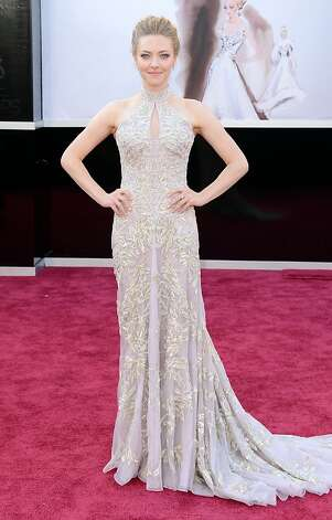 Worst: Amanda Seyfried. Potentially good dress, but the top is gappy. Alterations! Photo: Jason Merritt, Getty Images
