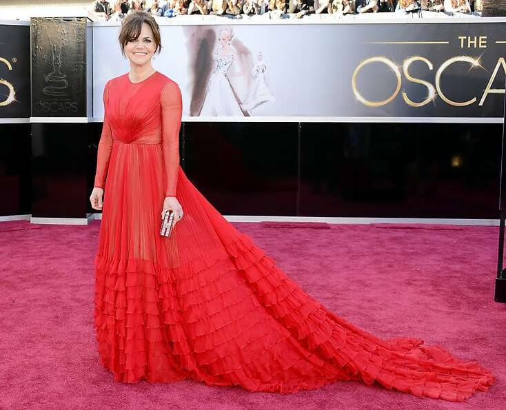 Worst: Sally Field. Yes, it's red, but you're as covered-up as a nun.