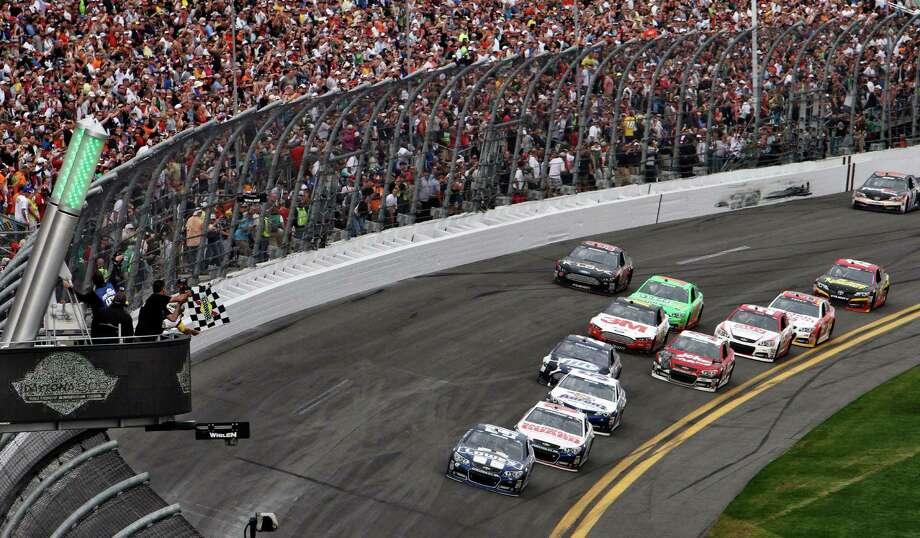 NASCAR fans already know this place rocks. Daytona International Speedway is No. 2. Photo: David Graham, Associated Press / FR46423 AP