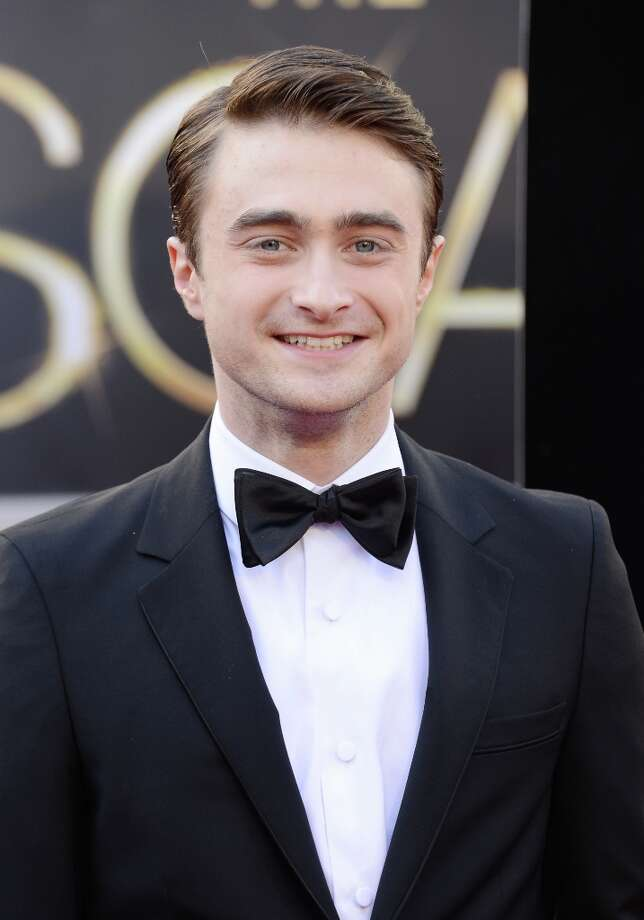 Actor Daniel Radcliffe arrives at the Oscars at Hollywood & Highland Center on February 24, 2013 in Hollywood, California. Photo: Jason Merritt, Getty Images / 2013 Getty Images