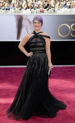TV personality Kelly Osbourne attends the Oscars at Hollywood & Highland Center on February 24, 2013 in Hollywood, California. Photo: Jason Merritt, Getty Images / 2013 Getty Images