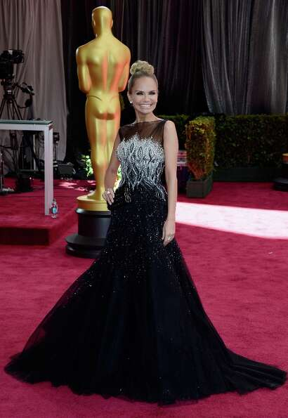 Actress Kristin Chenoweth attends the Oscars at Hollywood & Highland Center on February 24, 2013 in