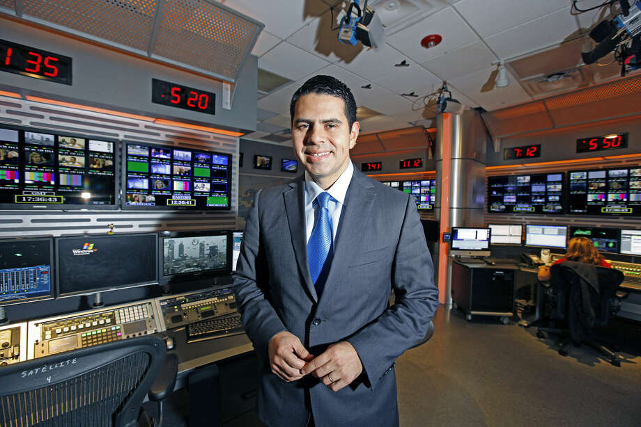 Cesar Conde, 39, president of Univision Networks, wants to develop a new network to complement Univision and to attract a new demographic of younger Latinos. Photo: Photos By Alexia Fodere / The Washington Post
