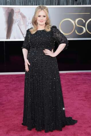 Best: Adele, that's not really your color, but we'll go with it. Photo: Jason Merritt, Getty Images / 2013 Getty Images