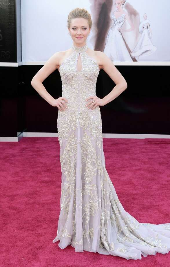 Actress Amanda Seyfried arrives at the Oscars at Hollywood & Highland Center on February 24, 2013 in Hollywood, California. Photo: Jason Merritt, Getty Images / 2013 Getty Images