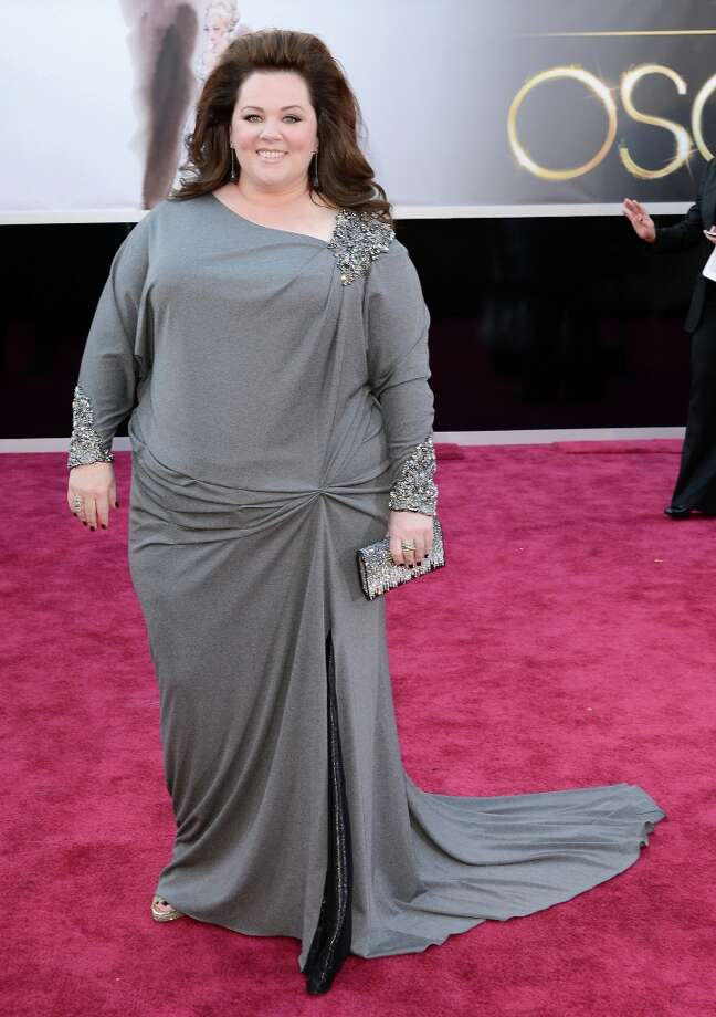 HOLLYWOOD, CA - FEBRUARY 24:  Actress Melissa McCarthy arrives at the Oscars at Hollywood & Highland Center on February 24, 2013 in Hollywood, California. Photo: Jason Merritt, Getty Images / 2013 Getty Images