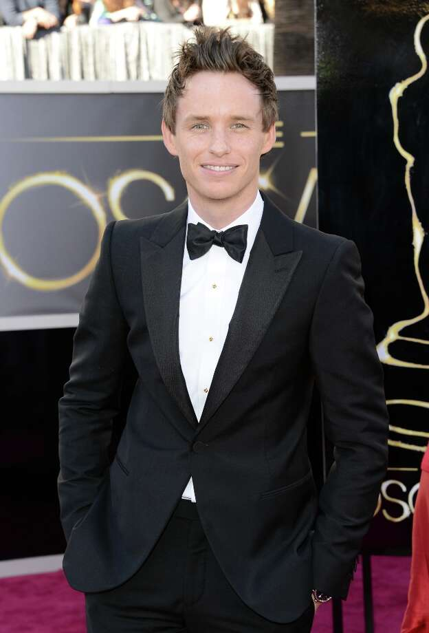 Actor Eddie Redmayne arrives at the Oscars at Hollywood & Highland Center on February 24, 2013 in Hollywood, California. Photo: Jason Merritt, Getty Images / 2013 Getty Images