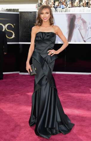 TV personality Giuliana Rancic attends the Oscars at Hollywood & Highland Center on February 24, 2013 in Hollywood, California. Photo: Jason Merritt, Getty Images / 2013 Getty Images