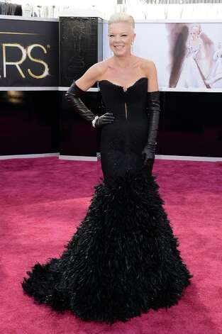 TV personality Tabatha Coffey attends the Oscars at Hollywood & Highland Center on February 24, 2013 in Hollywood, California. Photo: Jason Merritt, Getty Images / 2013 Getty Images