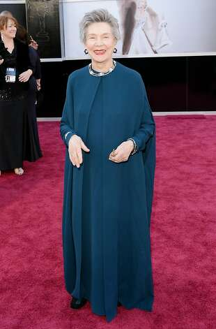 HOLLYWOOD, CA - FEBRUARY 24:  Actress Emmanuelle Riva arrives at the Oscars at Hollywood & Highland Center on February 24, 2013 in Hollywood, California.  (Photo by Jason Merritt/Getty Images) Photo: Jason Merritt, Getty Images