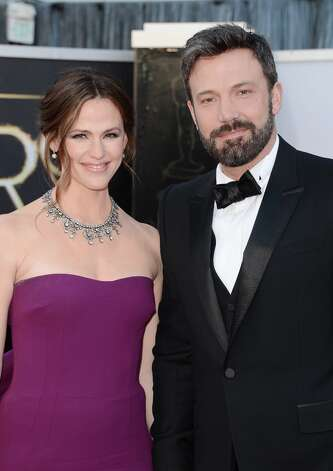 Actress Jennifer Garner and actor-director Ben Affleck arrive at the Oscars at Hollywood & Highland Center on February 24, 2013 in Hollywood, California. Photo: Jason Merritt, Getty Images / 2013 Getty Images