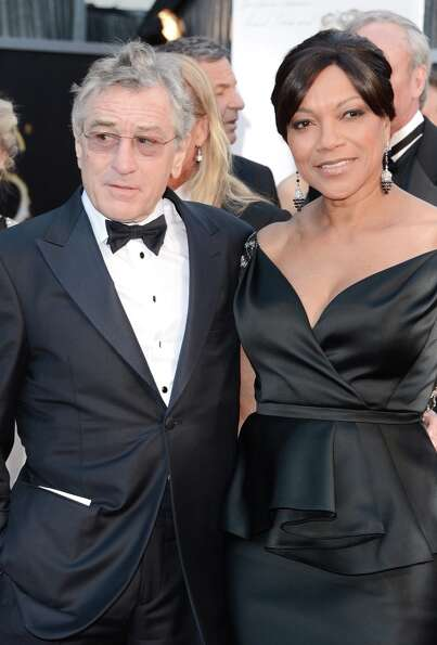 Actor Robert De Niro and wife Grace Hightower arrive at the Oscars at Hollywood & Highland Center on