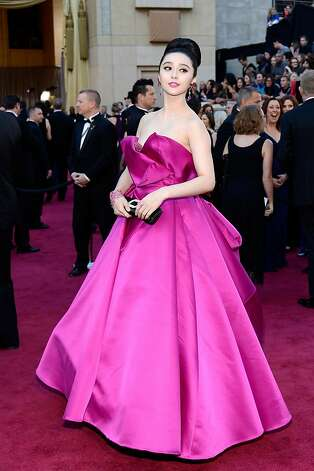HOLLYWOOD, CA - FEBRUARY 24:  Actress Fan Bingbing arrives at the Oscars at Hollywood & Highland Center on February 24, 2013 in Hollywood, California.  (Photo by Kevork Djansezian/Getty Images) Photo: Kevork Djansezian, Getty Images