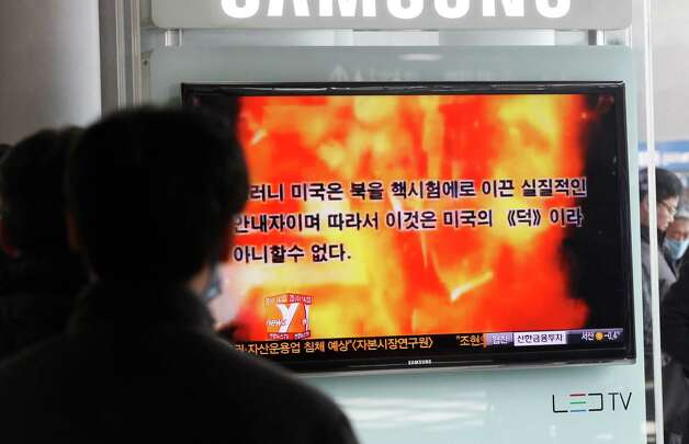 We're sick of being blown up by North Korea ... even if it is just propaganda.