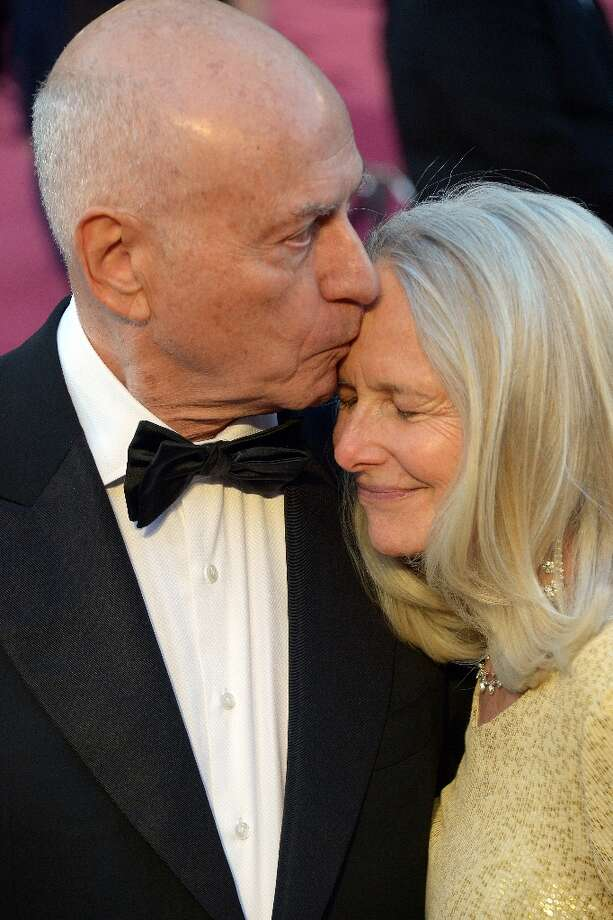 Best Supporting Actor nominee Alan Arkin and his wife Suzanne arrive on the red carpet for the 85th Annual Academy Awards on February 24, 2013 in Hollywood, California. AFP PHOTO/JOE KLAMAR Photo: JOE KLAMAR, AFP/Getty Images / AFP