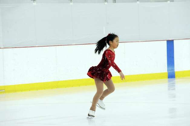 Yurika Sakai,  SFSC, competing at the 2013 Greenwich Town Figure Skating Competition at the Dorothy Hamill Skating Rink, in Byram, Conn., Sunday, Feb. 24, 2013. Photo: Helen Neafsey / Greenwich Time