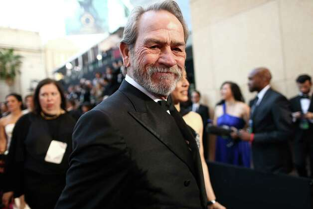 HOLLYWOOD, CA - FEBRUARY 24:  Actor Tommy Lee Jones arrives at the Oscars held at Hollywood & Highland Center on February 24, 2013 in Hollywood, California. Photo: Christopher Polk, Getty Images / 2013 Getty Images