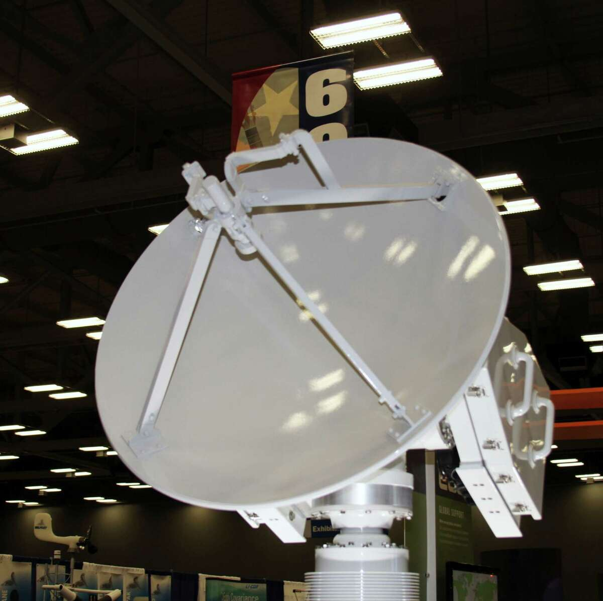 The exhibit hall at the Austin Convention Center was recently filled with the latest weather monitoring equipment during a meeting of the American Meteorological Society.