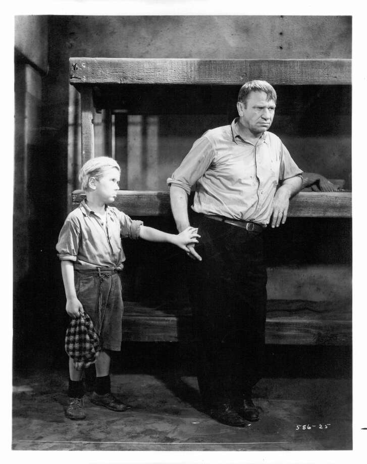 Wallace Beery won his award for 'The Champ', where he appeared with child actor Jackie Cooper. Photo: Michael Ochs Archives, Getty Images / 2012 Getty Images