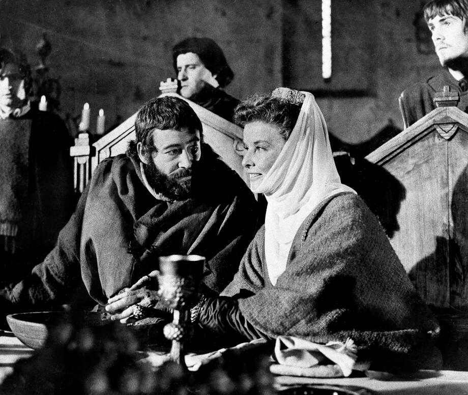 Hepburn, won for The Lion in Winter, opposite Peter O'Toole. Photo: Anonymous, ASSOCIATED PRESS / A1968