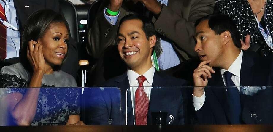 Two Castros, one Obama.