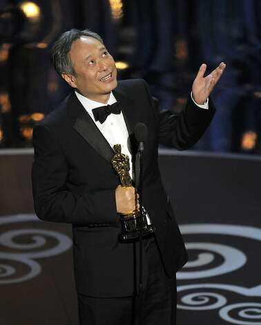 Ang Lee wins best director. Photo: Chris Pizzello, Associated Press