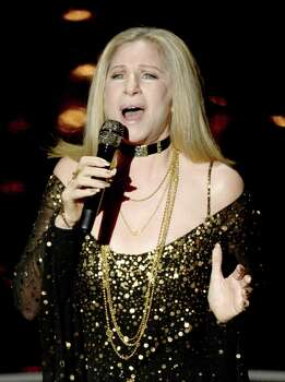 HOLLYWOOD, CA - FEBRUARY 24:  Singer/actress Barbra Streisand performs onstage during the Oscars held at the Dolby Theatre on February 24, 2013 in Hollywood, California. Photo: Kevin Winter, Getty Images / 2013 Getty Images