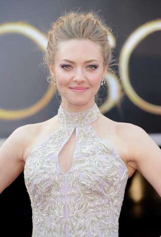 Amanda Seyfried in Alexander McQueen.   (Photo by Jason Merritt/Getty Images) Photo: Jason Merritt, Staff / 2013 Getty Images