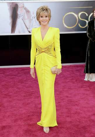 HOLLYWOOD, CA - FEBRUARY 24:  Actress Jane Fonda arrives at the Oscars at Hollywood & Highland Center on February 24, 2013 in Hollywood, California.  (Photo by Jason Merritt/Getty Images) Photo: Jason Merritt, Staff / 2013 Getty Images