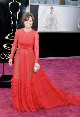 Sally Field in Giorgio Armani. Photo: Jason Merritt, Staff / 2013 Getty Images