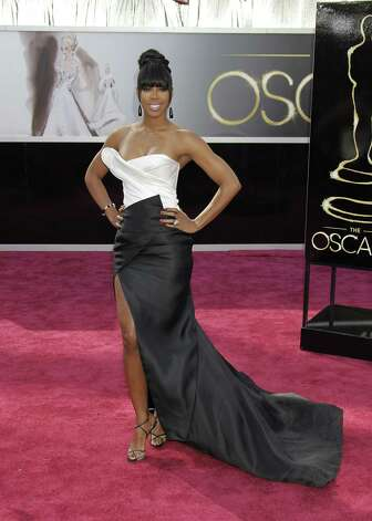 Kelly Rowland arrives at the 85th annual Academy Awards held at the Dolby Theatre in Los Angeles, California, Sunday, February 24, 2013. (Francis Specker/Landov/MCT) Photo: Francis Specker, MBR / Landov