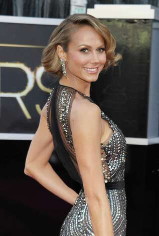 Stacy Keibler in Naeem Khan Photo: John Shearer, INVL / Invision
