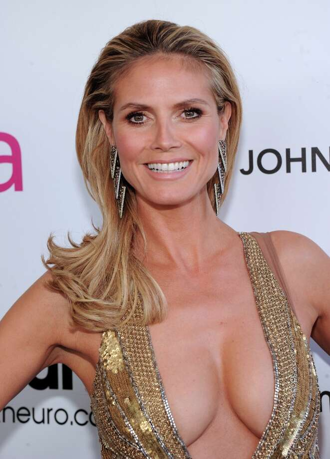 Model Heidi Klum attends the 21st Annual Elton John AIDS Foundation Academy Awards Viewing Party at Pacific Design Center on February 24, 2013 in West Hollywood, California. Photo: Jamie McCarthy, Getty Images For EJAF / 2013 Getty Images