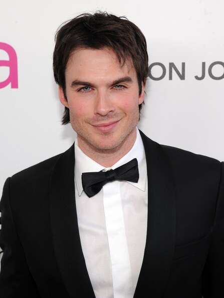 WEST HOLLYWOOD, CA - FEBRUARY 24:  Actor Ian Somerhalder attends the 21st Annual Elton John AIDS Fou