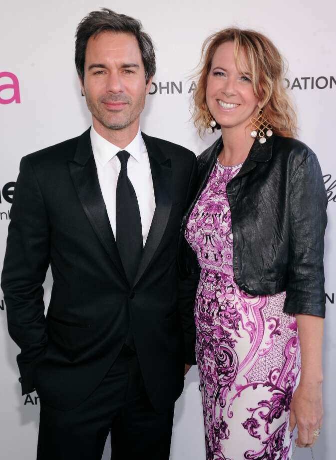 WEST HOLLYWOOD, CA - FEBRUARY 24:  Eric McCormack (L) and Janet Holden attends the 21st Annual Elton John AIDS Foundation Academy Awards Viewing Party at Pacific Design Center on February 24, 2013 in West Hollywood, California. Photo: Jamie McCarthy, Getty Images For EJAF / 2013 Getty Images