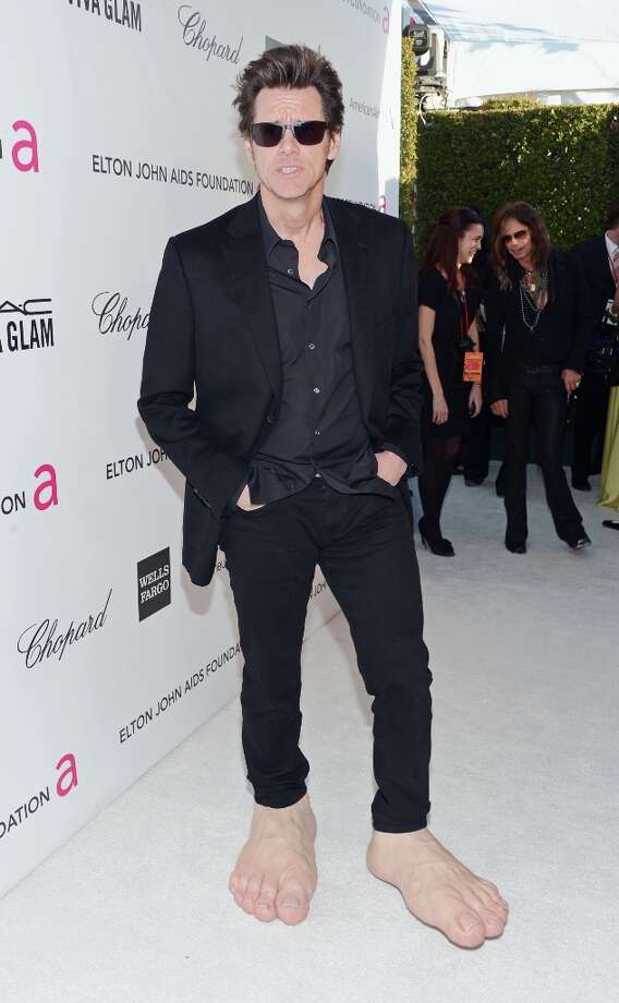 WEST HOLLYWOOD, CA - FEBRUARY 24:  Actor Jim Carrey attends the 21st Annual Elton John AIDS Foundation Academy Awards Viewing Party at Pacific Design Center on February 24, 2013 in West Hollywood, California. Photo: Jason Kempin, Getty Images For EJAF / 2013 Getty Images